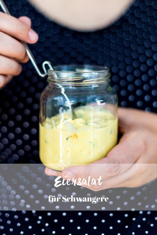 Eiersalat für Schwangere Eiersalat ohne Mayonaise Rezept