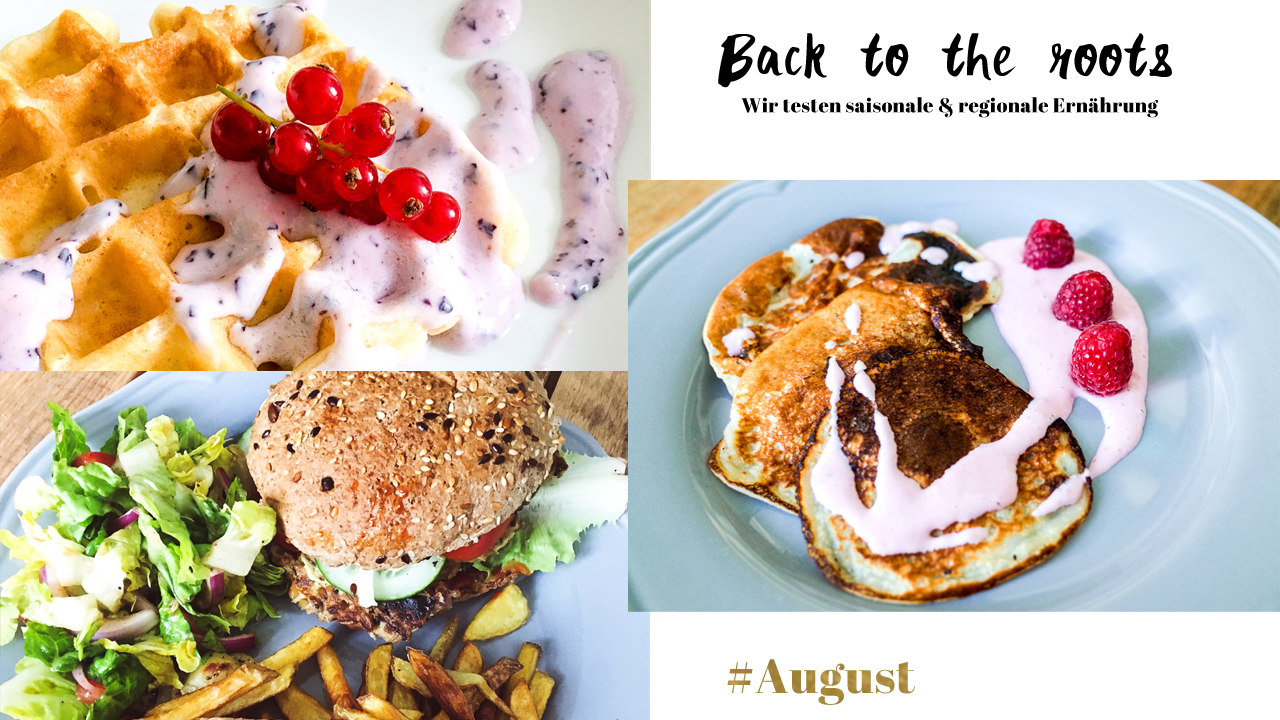 saisonal essen august