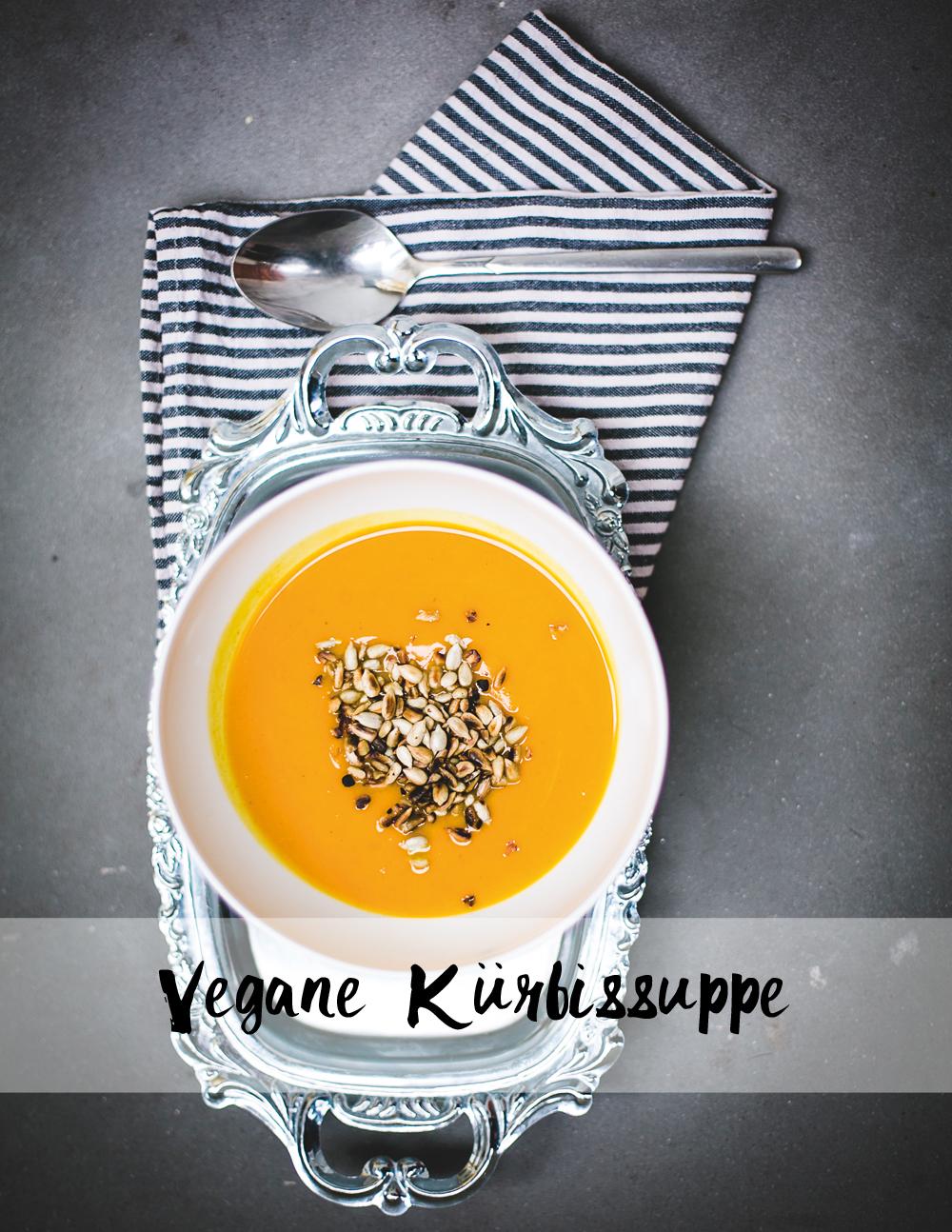 Vegane Kürbissuppe