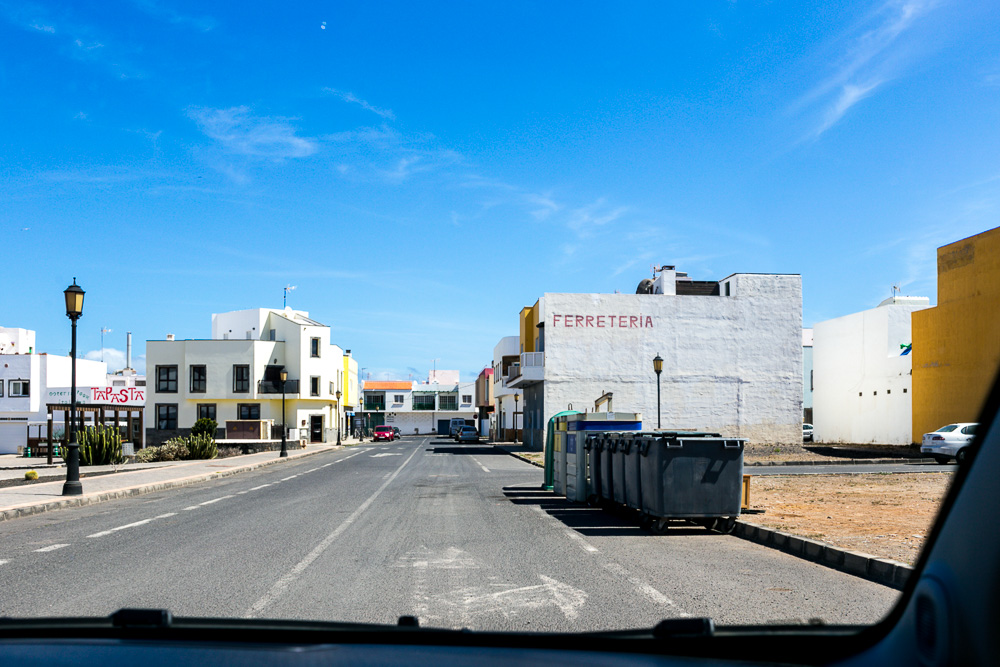 Fuerteventura Inselrundfahrt mit dem Mietwagen El Cotillo