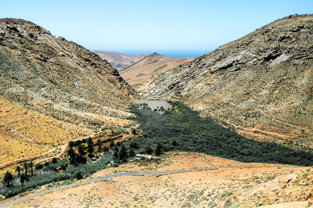Fuerteventura Inselrundfahrt mit dem Mietwagen Parque Rural