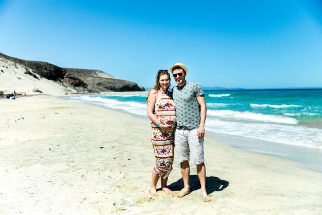 Fuerteventura Inselrundfahrt mit dem Mietwagen Strand