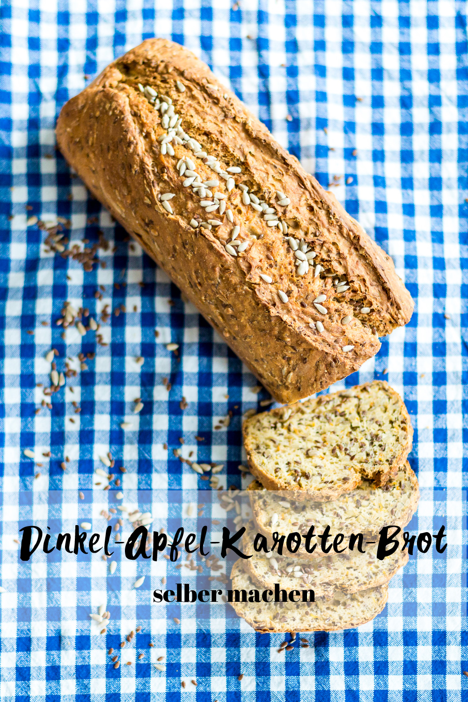 Dinkel_Apfel_Karotten_Brot_selber_backen