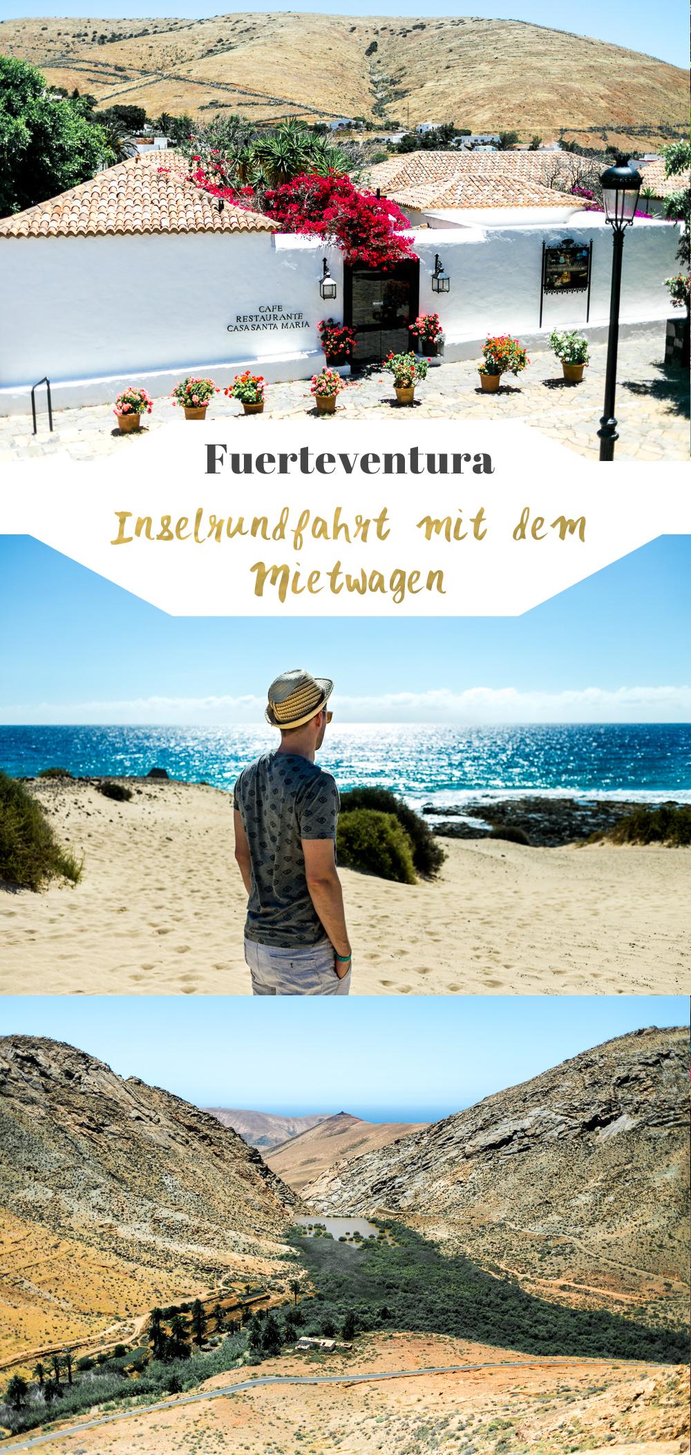 Fuerteventura Inselrundfahrt mit dem Mietwagen