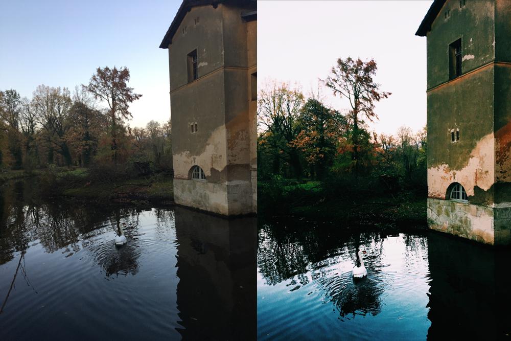 Handyfotos bearbeiten Smartphone Bildbearbeitung Apps Snapseed VSCO Anleitung
