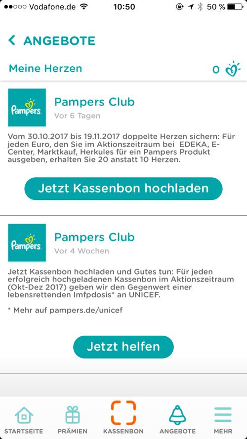 Pampers UNICEF Pampers Club App 1Pampers UNICEF Pampers Club App 1