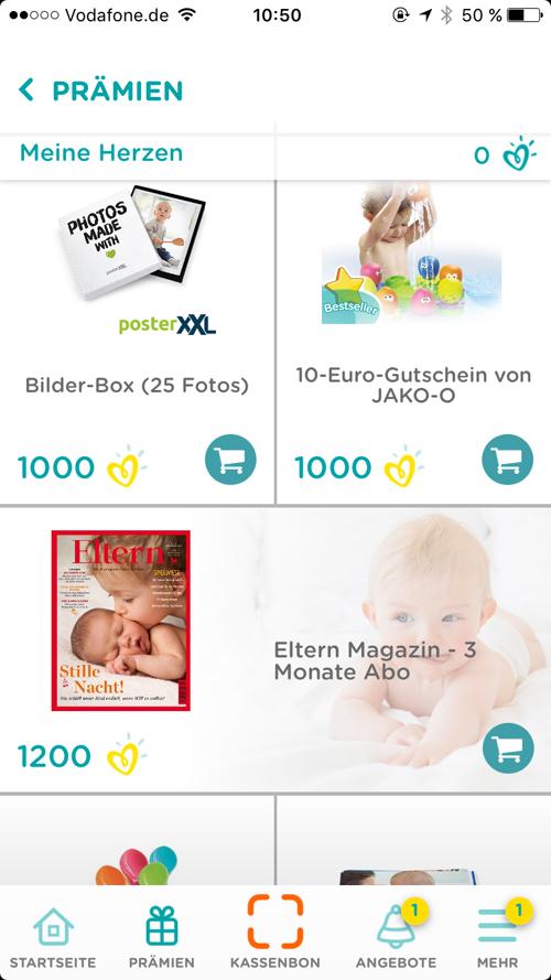 Pampers UNICEF Pampers Club App 1