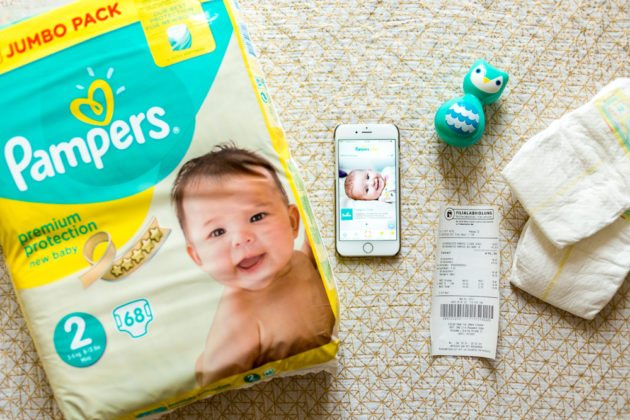 Pampers UNICEF Pampers Club App 1