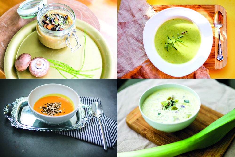 Suppenrezepte für kalte Wintertage