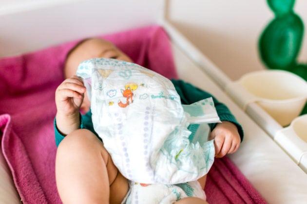 Pampers Baby Dry Air Windel im Test