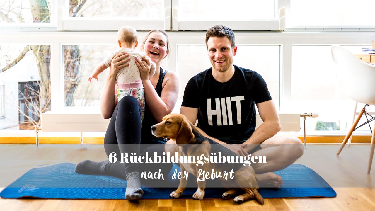 6 Rückbildungsübungen nach der Geburt ohne Hilfsmittel für zu Hause