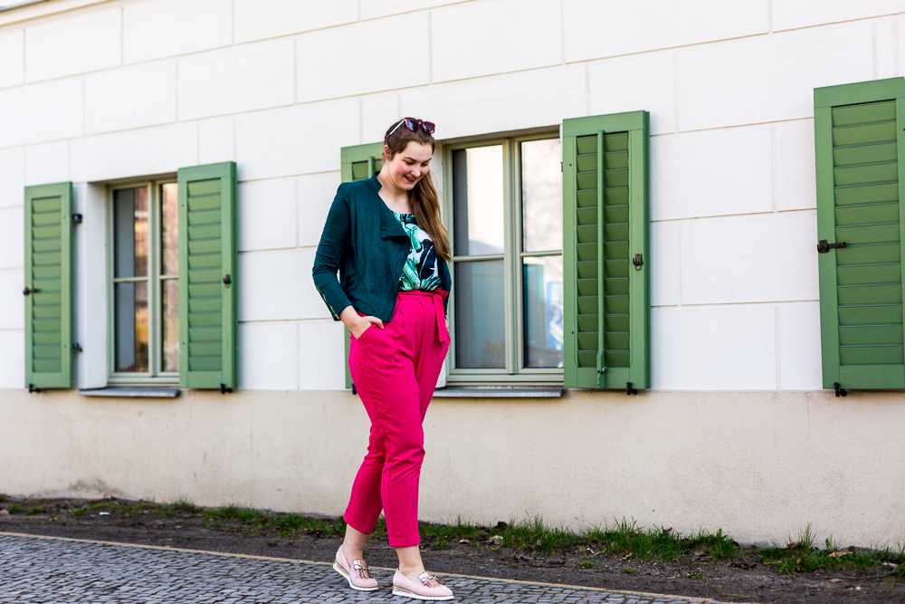 Paperbag Hose Pink