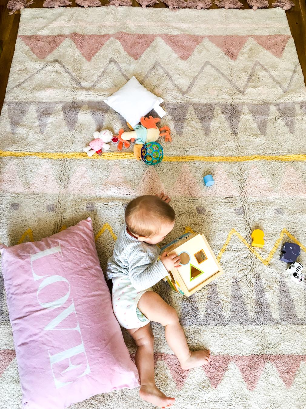 Schöne Kinderzimmerteppiche