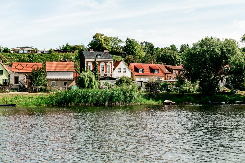 Katamaranfahrt Havel Havelberg