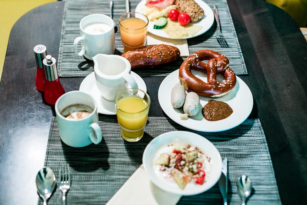 Novotel München City Frühstück