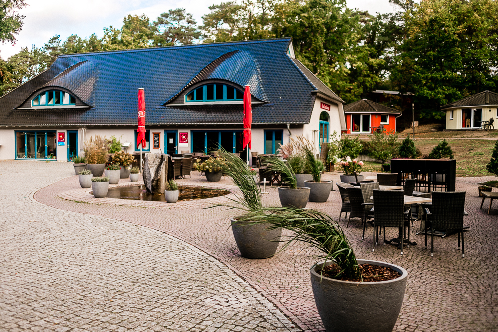 Mit Kleinkind auf Rügen Regenbogen Ferienanlage Göhren Ostsee Erfahrungen Restaurant Landlust