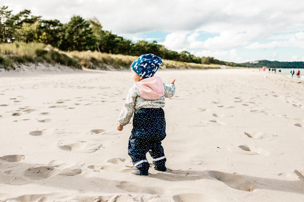 Mit Kleinkind auf Rügen Regenbogen Ferienanlage Göhren Ostsee Erfahrungen Strand
