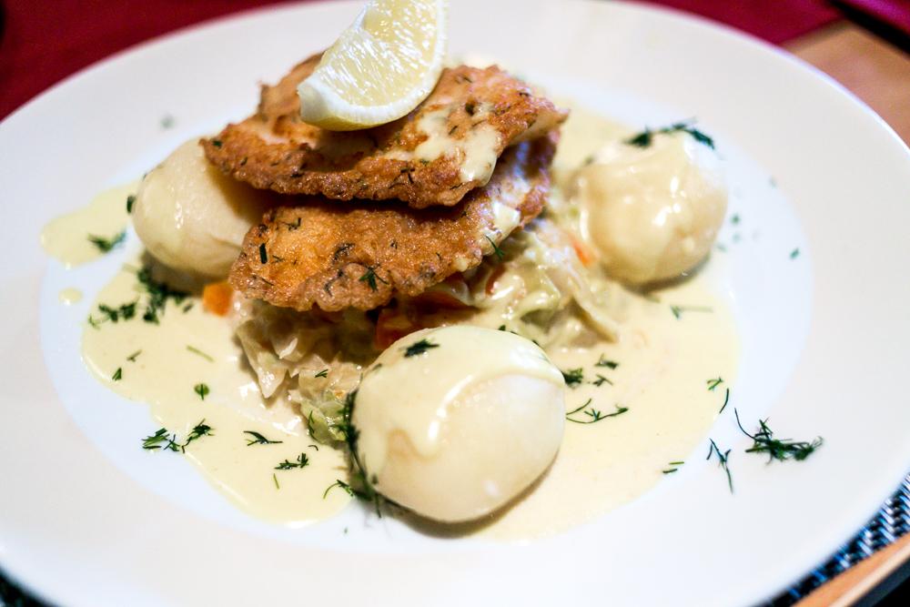 Mit Kleinkind auf Rügen Regenbogen Ferienanlage Göhren Ostsee Erfahrungen Restaurant Landlust Abendessen