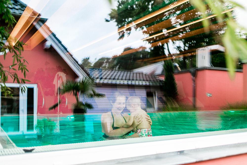 Mit Kleinkind auf Rügen Regenbogen Ferienanlage Göhren Ostsee Erfahrungen Wellnessbereich Silenciospa