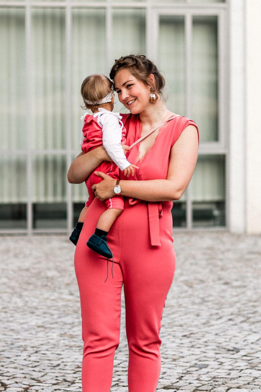 Hochzeitsgast-Outfit Mutter Tochter Jumpsuit
