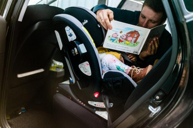 Sicheres Autofahren mit Kind