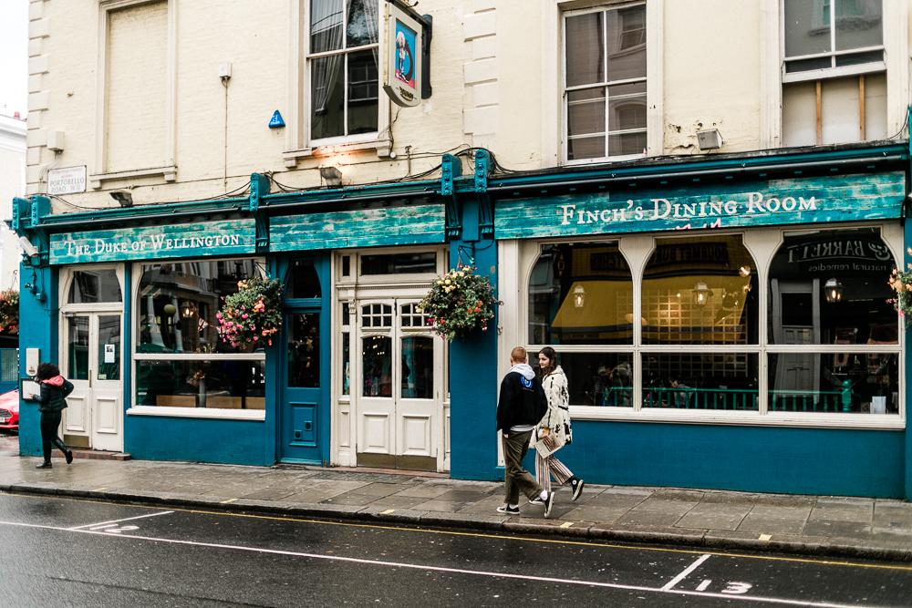 London mit Kleinkind Notting Hill