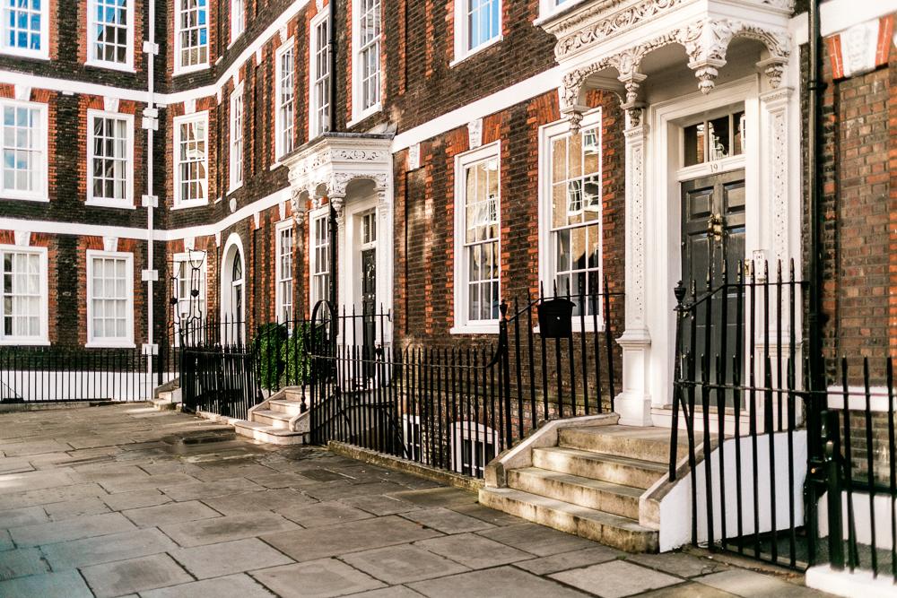 London mit Kleinkind