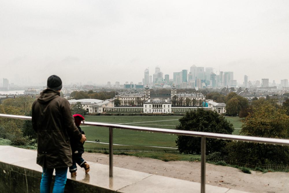 London mit Kleinkind Greenwich Park