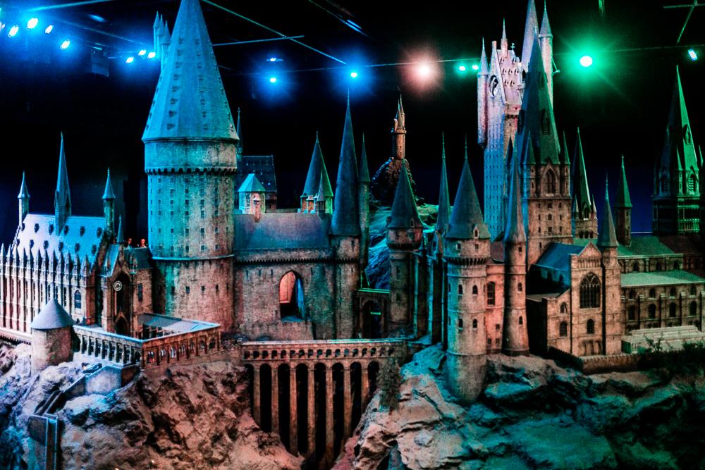 Harry Potter Studios mit Kleinkind