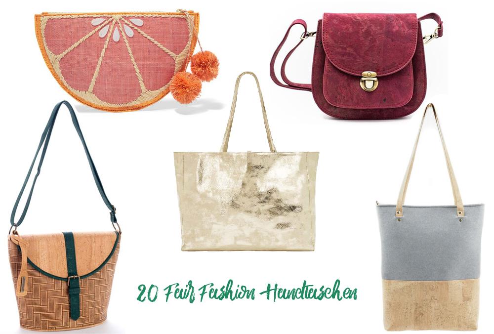 Fair Fashion Taschen nachhaltige Handtaschen Fair Trade
