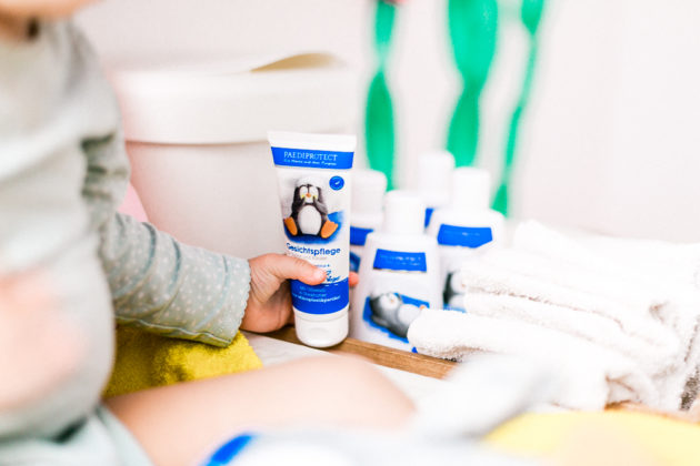 Paediprotect Pflegeserie Hautpflege Kleinkinder