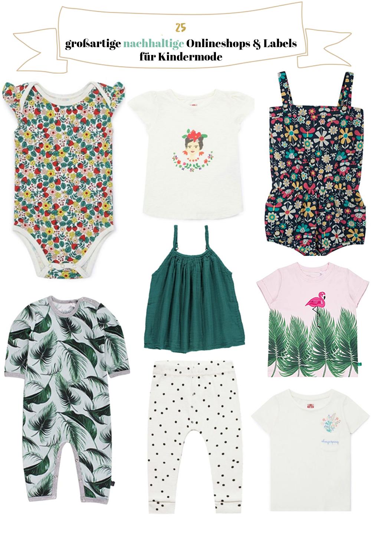 Nachhaltige Kleidung für Kinder