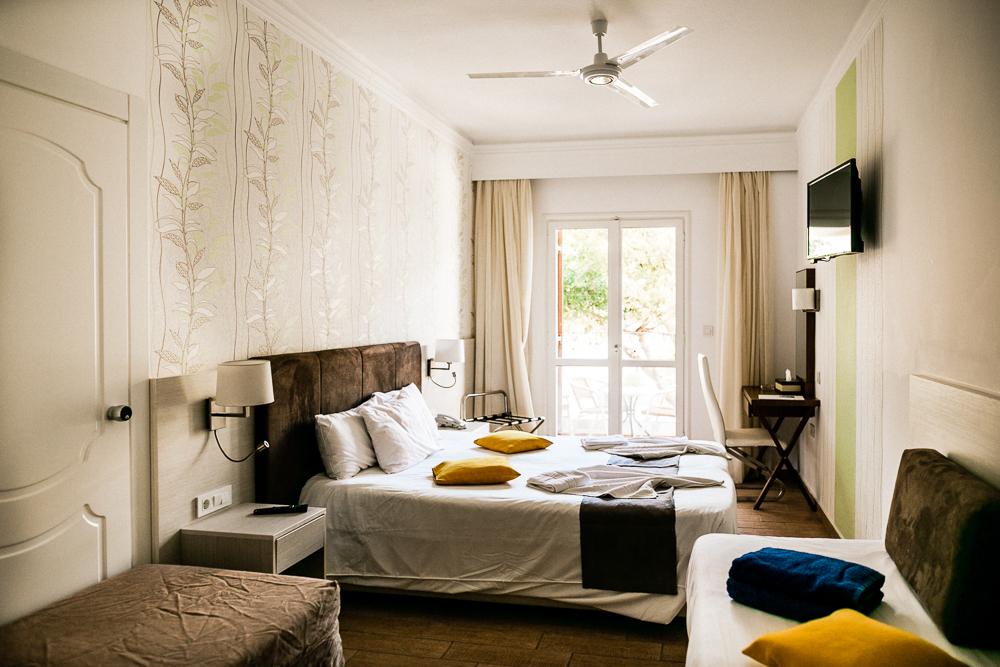 Kalyves Beach Hotel auf Kreta Zimmer