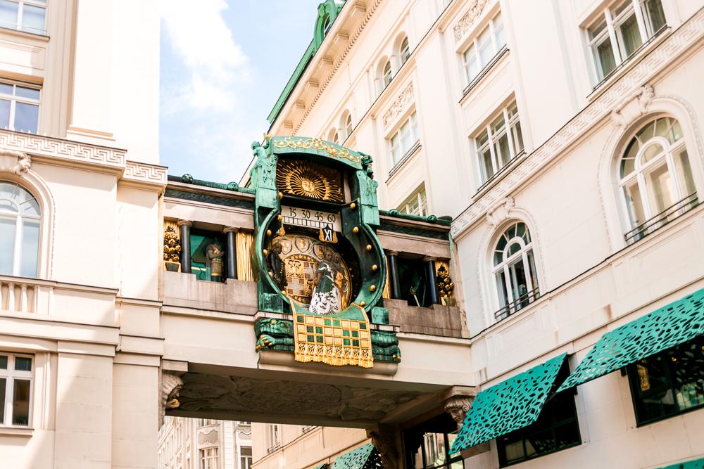Wien Highlights Ankeruhr