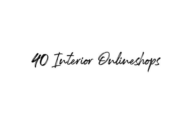 Interior Onlineshops