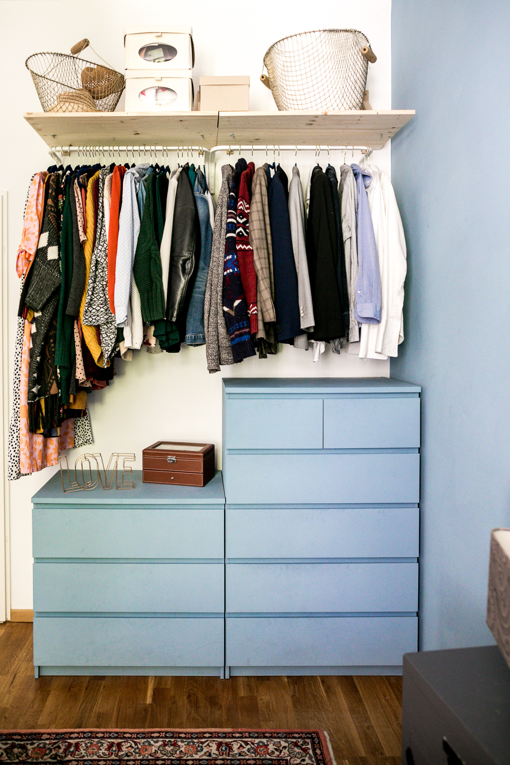 Minimalistischer Kleiderschrank Unser Diy Upcycling