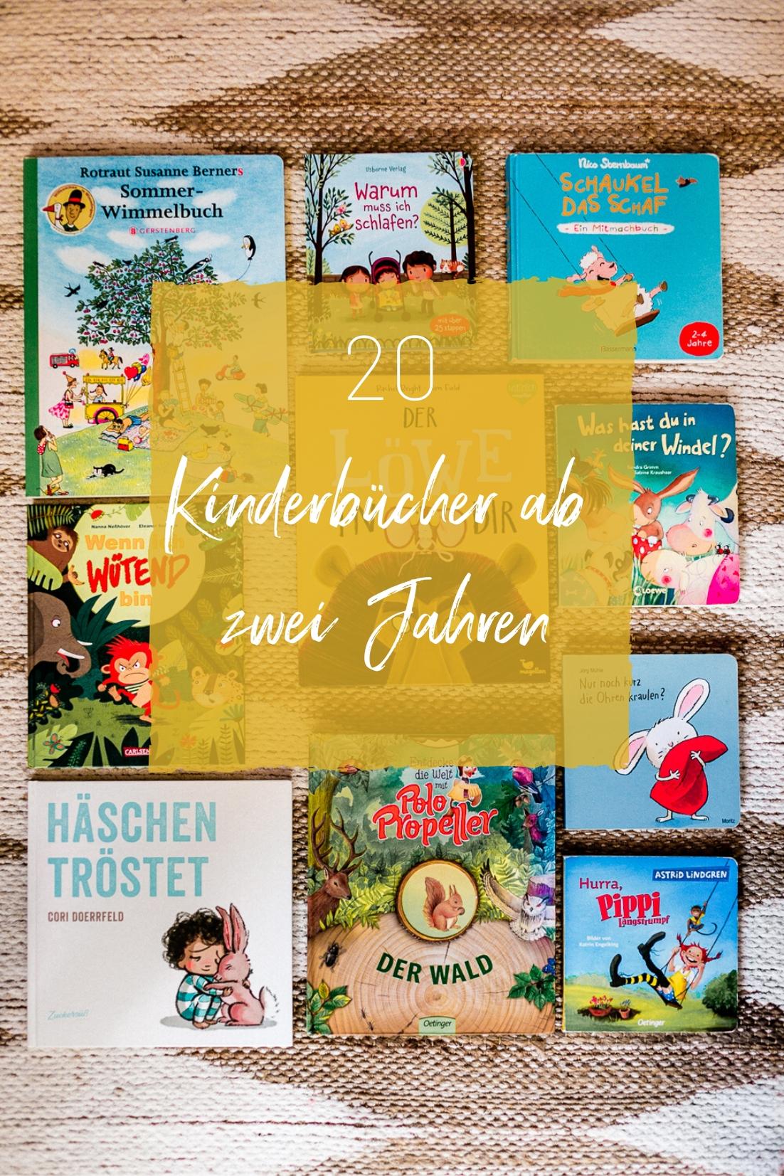 Kinderbücher ab 2 Jahren