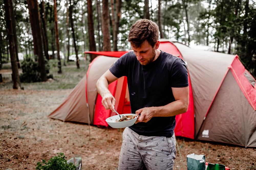 Zelten mit Campo Verde