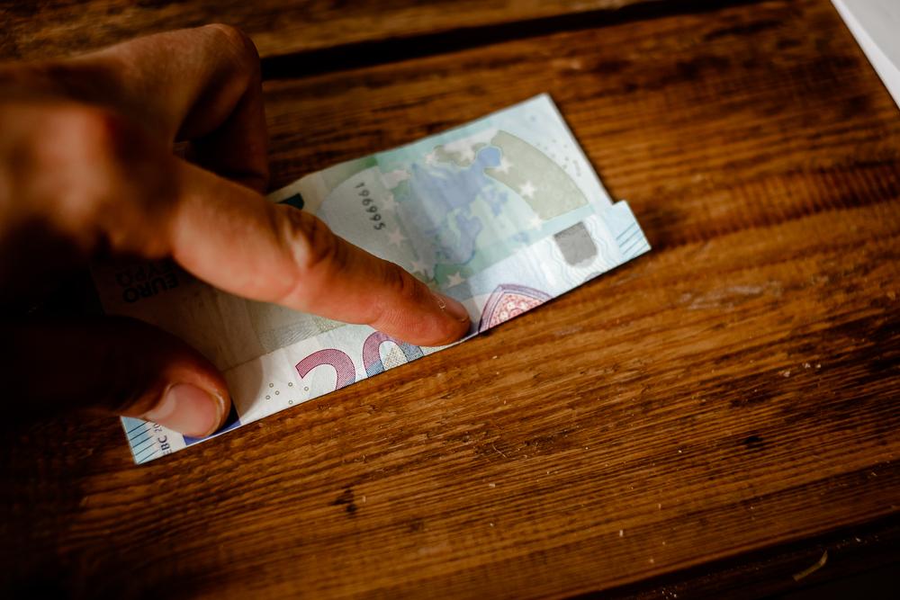 Geldgeschenk zum Einzug
