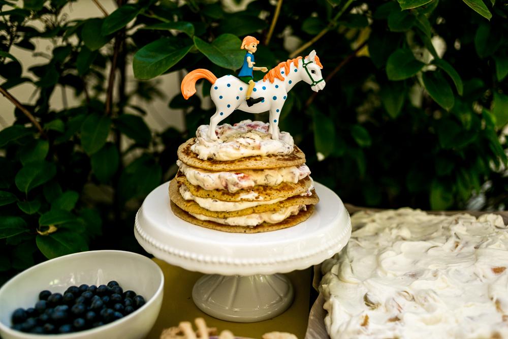 Pippi Langstrumpf Party Torte