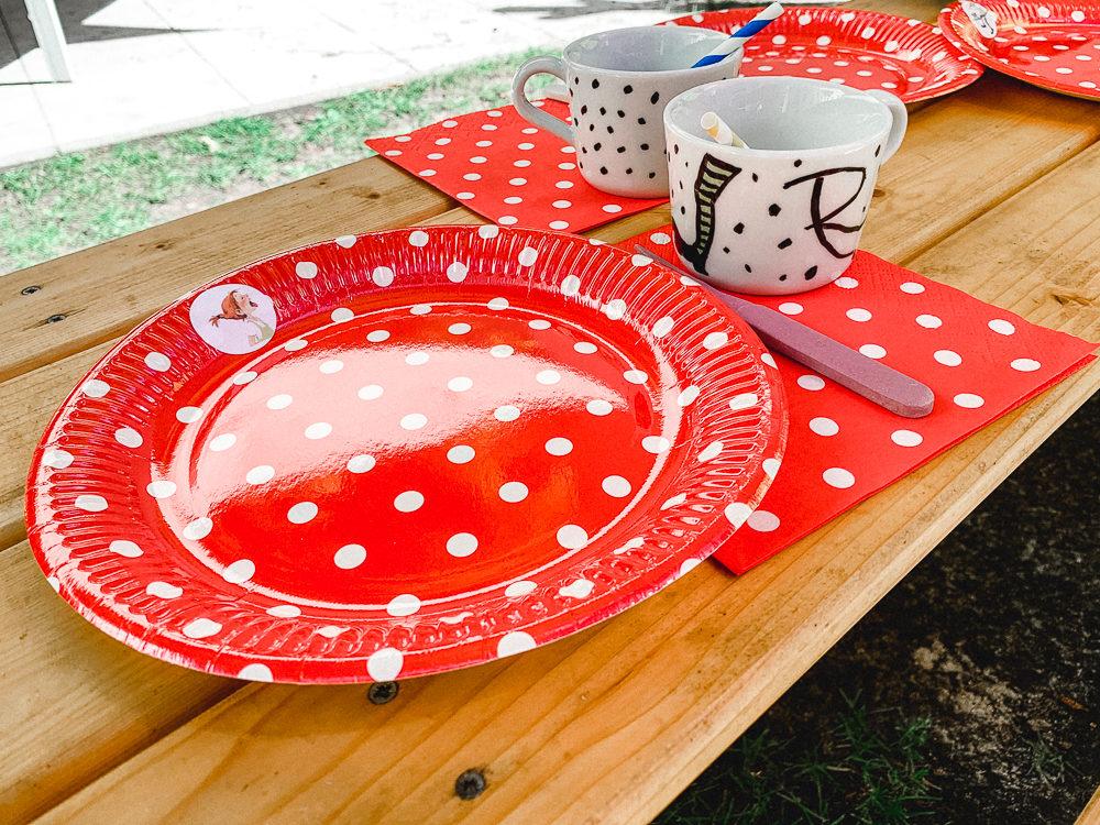 Pippi Langstrumpf Party Tischdeko