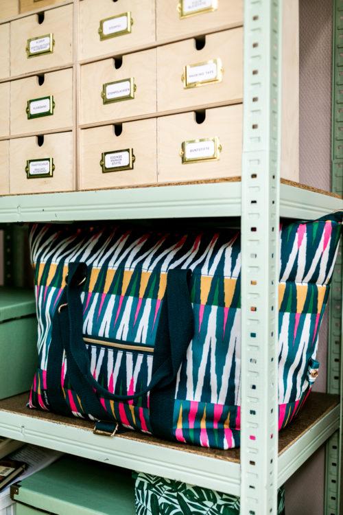 10 Tipps für einen schönen und organisierten Home Office Arbeitsplatz mit Farbe von Schöner Wohnen Farbe Grün und Rosa